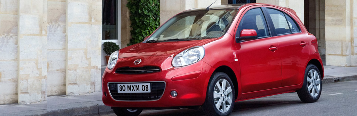 The Nissan Micra Acenta