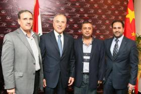 Opening Great Wall Tripoli Showroom