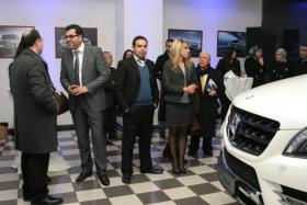 Lunching ML-2013 Mercerdes Showroom